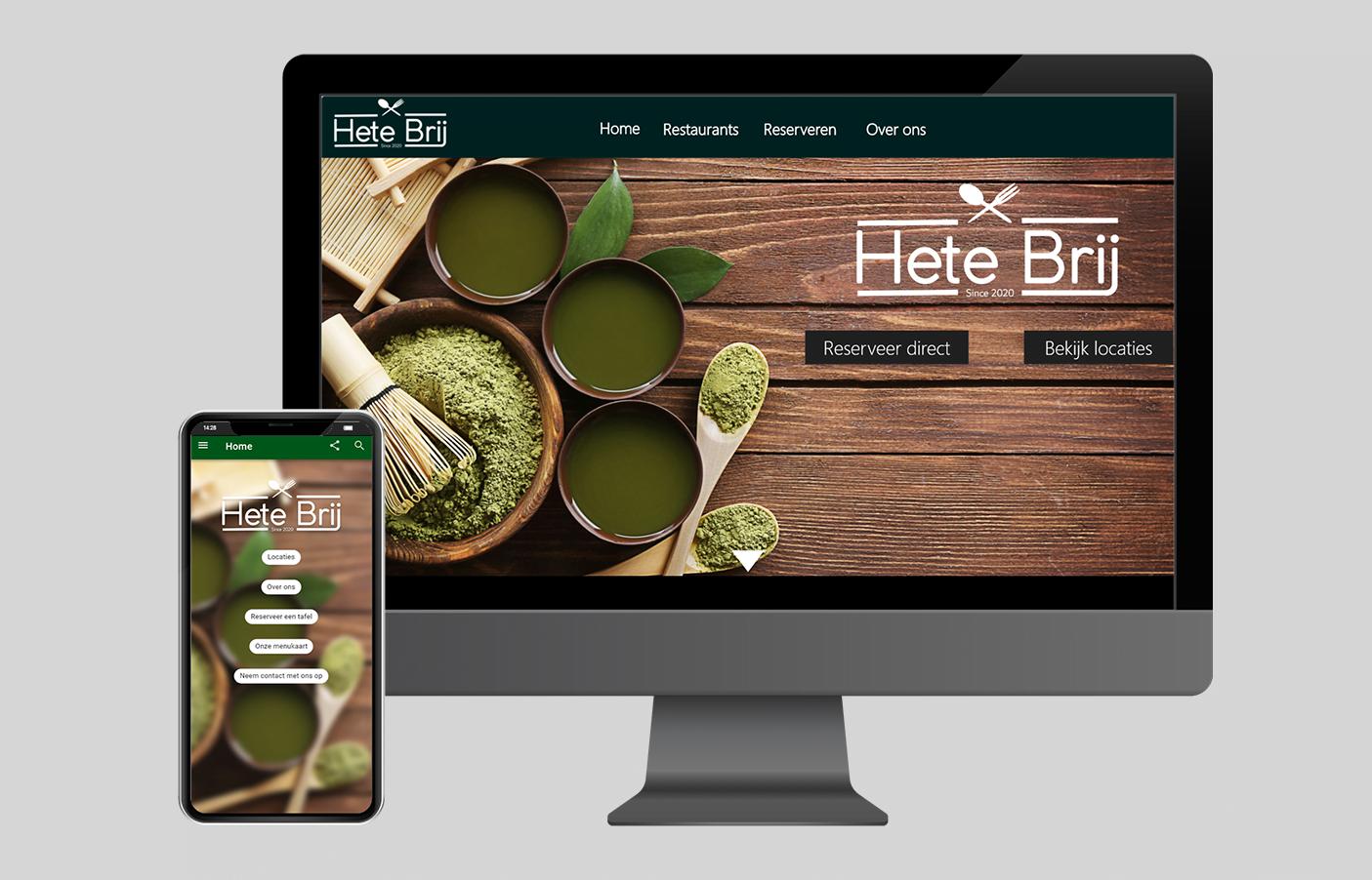 Ontwerp website & app